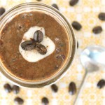 French Vanilla Cappuccino Chia Pudding by @jesselwellness #chia #cappuccino small