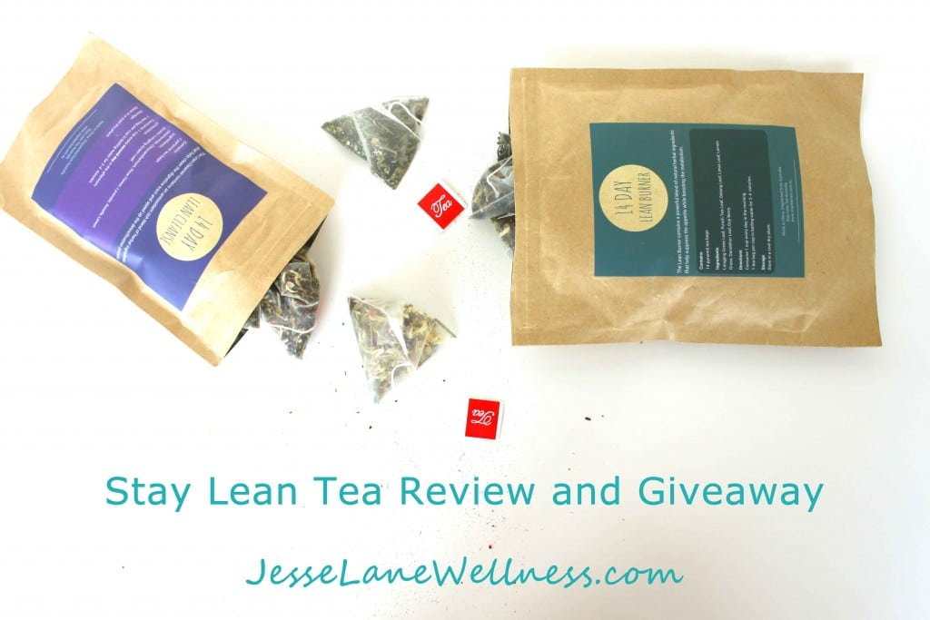 Stay Lean Tea Review and Giveaway with @jesselwellness #tea #win