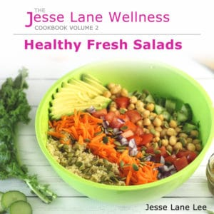 Healthy Fresh Salads Cover Square by @jesselwellness #salad #healthysalads