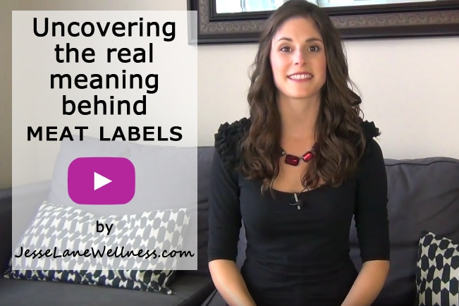 Uncovering the real meaning behind meat labels video with @jesselwellness #video #meat #organic #grassfed