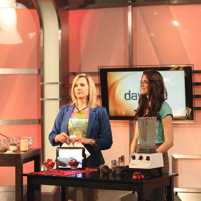 @jesselwellness on daytime Toronto talking about her cookbook Healthy Dairy Free Desserts #dessert #healthy
