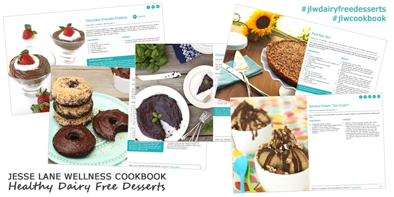 Jesse Lane Wellness Cookbook Healthy Dairy Free Desserts Sneak Peak Recipes @jesselwellness #jlwcookbook