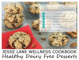 Jesse Lane Wellness Cookbook Healthy Dairy Free Desserts Symboles @jesselwellness #jlwcookbook