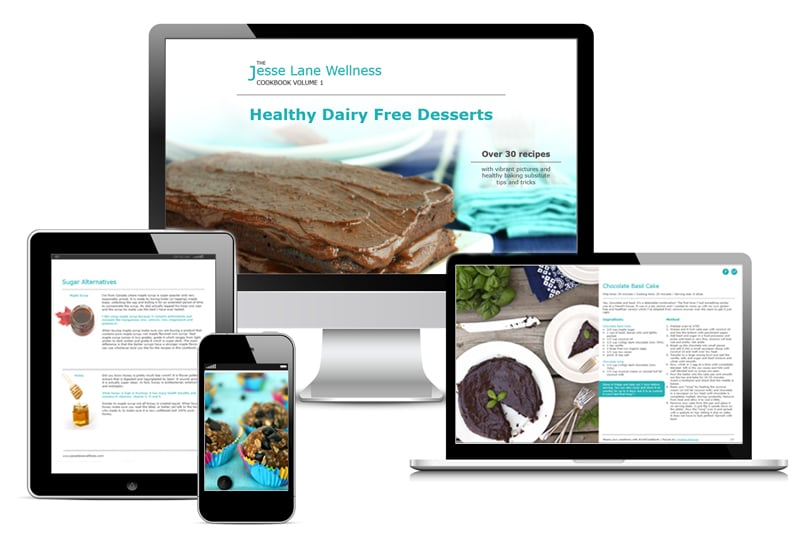Jesse Lane Wellness Healthy Dairy Free Desserts Digital