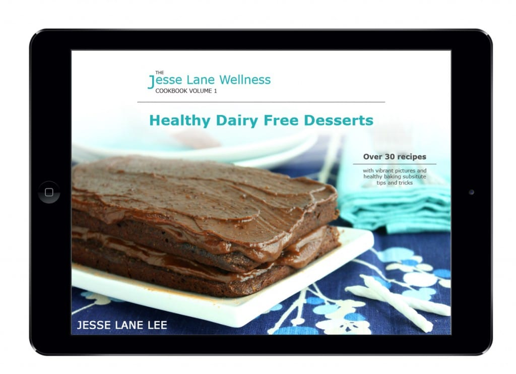 Jesse Lane Wellness Healthy Dairy Free Desserts iPad Cover