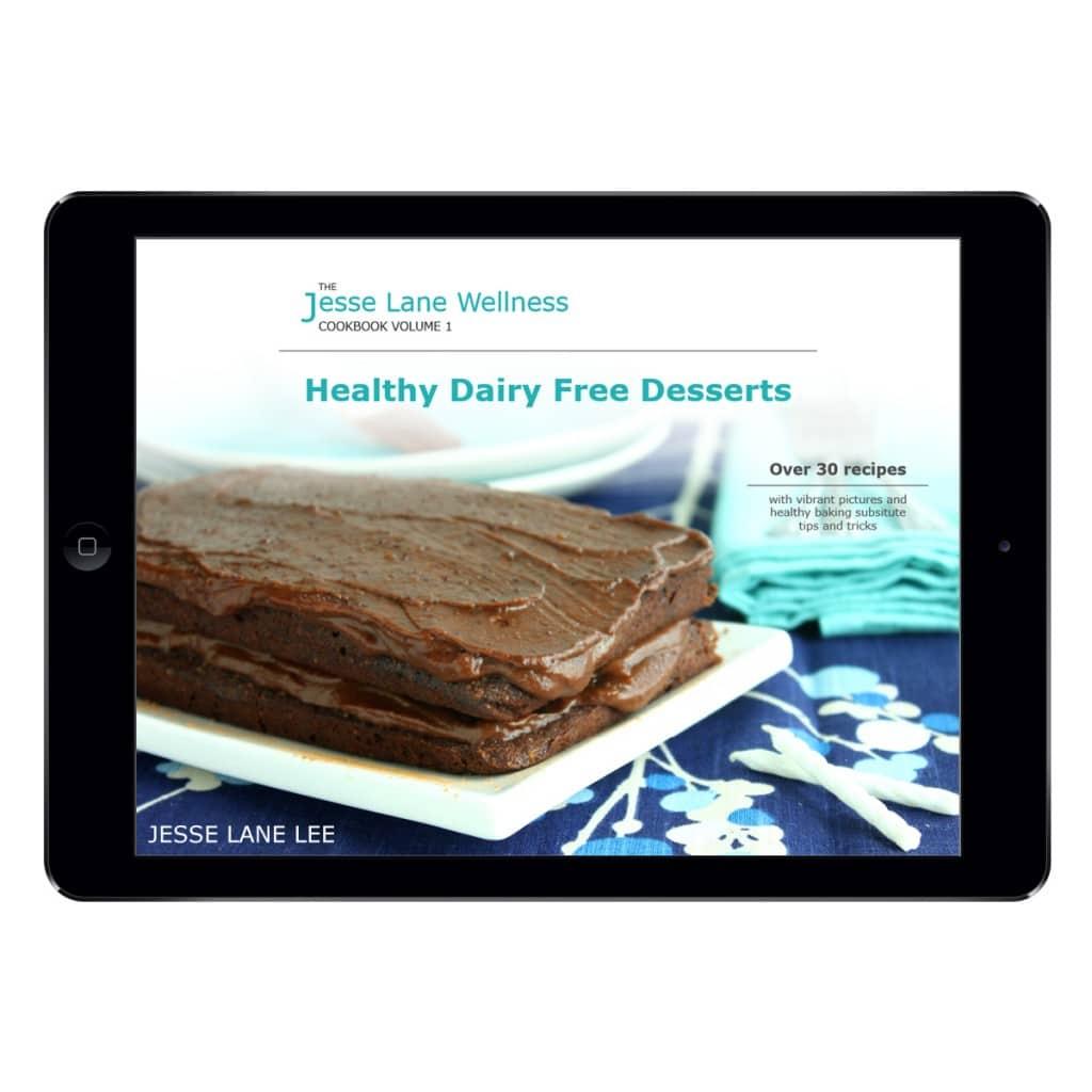 Jesse Lane Wellness Healthy Dairy Free Desserts iPad