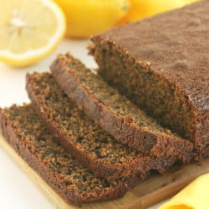 Lemon Poppy Seed Loaf by Jesse Lane Wellness