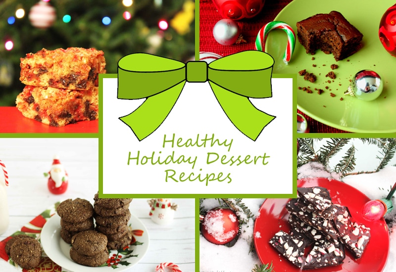 Healthy Holiday Dessert Recipes by @jesselwellness #christmas #holidaydesserts