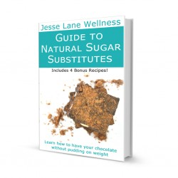 Guide to Natural Sugar Substitutes bu @jesselwellness #sugar #guide