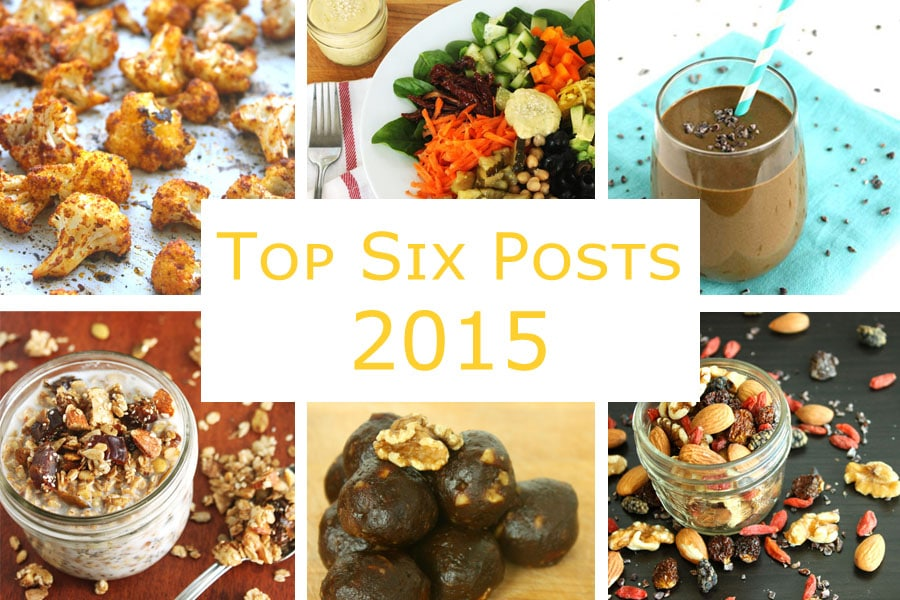 Your top 6 posts from 2015 on @jesselwellness #holistic #recipes