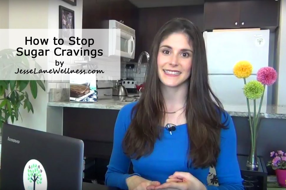 How to Stop Sugar Cravings with Jesse Lane Wellness #sugar