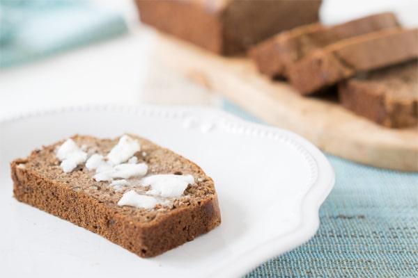 No Sugar Desserts Recipe Roundup with @jesselwellness - Earl Grey Banana Bread #bananabread #earlgrey #sugarfree