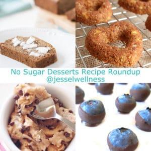 No Sugar Desserts Recipe Roundup with @jesselwellness #dessert #dairyfree #sugarfree