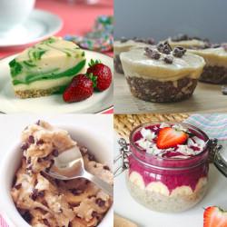 No Sugar Desserts Recipe Roundup with @jesselwellness #dessert #glutenfree #sugarfree #dairyfree