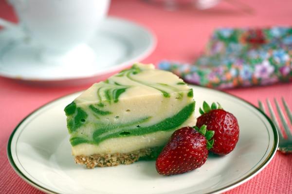 No Sugar Desserts Recipe Roundup with @jesselwellness matcha cheesecake #matcha #cheesecake #sugarfree