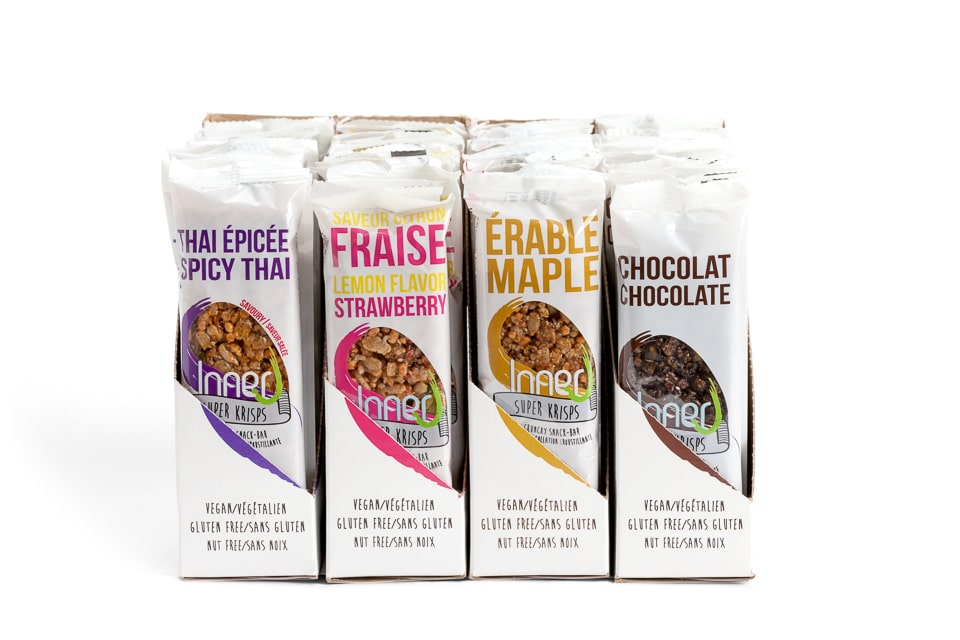Inner J Bar Giveaway on @jesselwellness How to Stop Sugar Cravings #energybar
