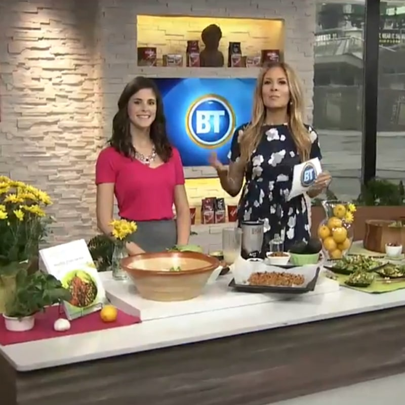 Breakfast Television - Slimmed Down Caesar Salad with @jesselwellness