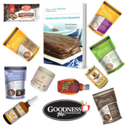 Healthy Dairy Free Dessert and Goodness Me biggest giveaway yet with @jesselwellness #dessert #jlwcookbook #giveaway