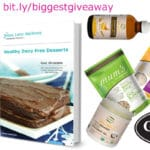 Healthy Dairy Free Dessert and Goodness Me biggest giveaway yet with @jesselwellness #win #giveaway