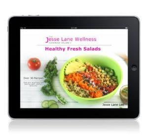 Jesse Lane Wellness Cookbook: Healthy Fresh Salads Digital Copy by @jesselwellness #salads #freshsalads