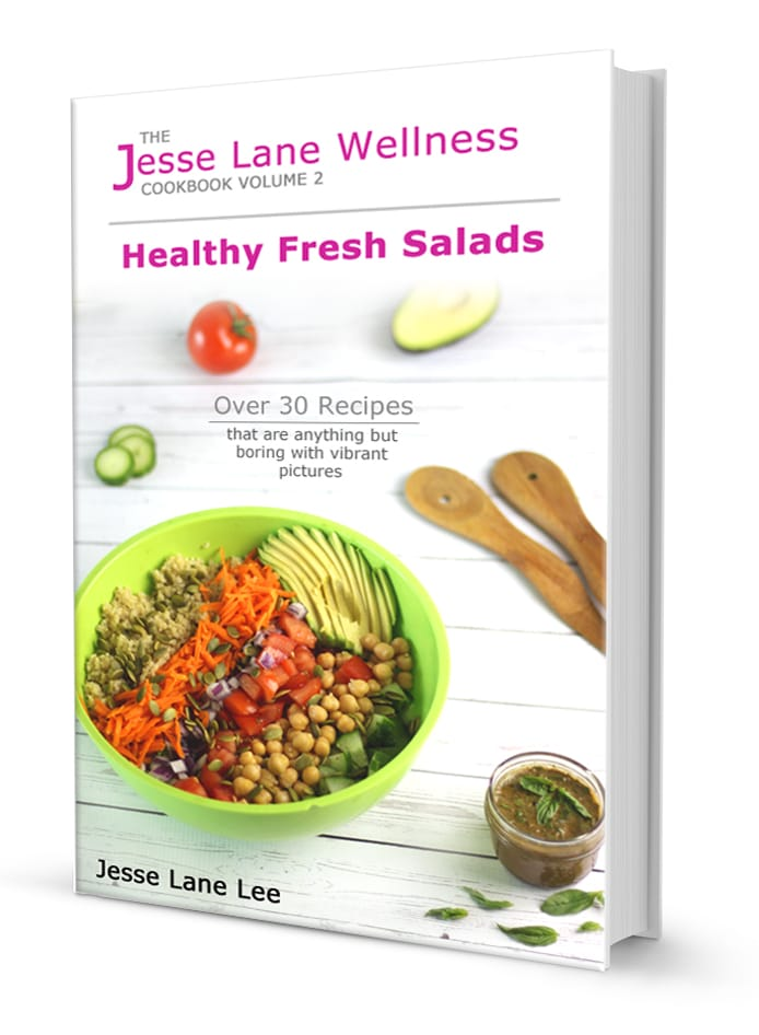 Jesse Lane Wellness Healthy Fresh Salads by @jesselwellness #freshsalads #salads