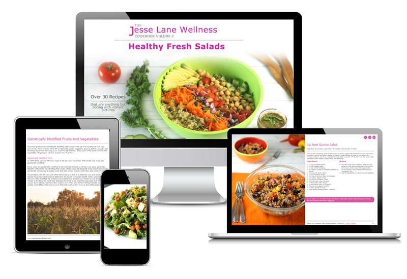 Jesse Lane Wellness Healthy Fresh Salads Digital by @jesselwellness #eBook #jlwcookbook