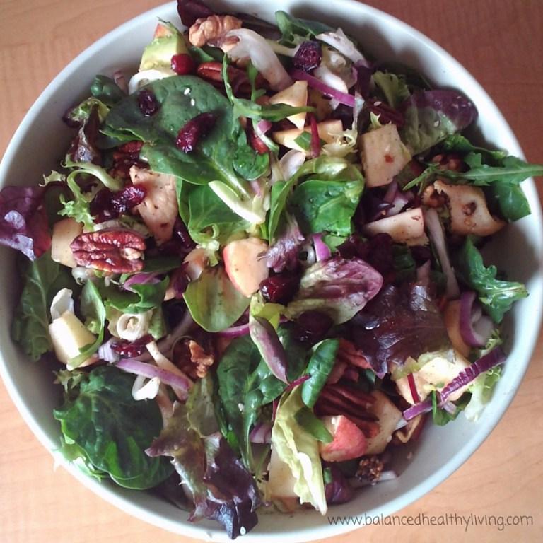 8 Fresh Salad Recipes Balanced Healthy Living with @jesselwellness #salad #freshsalads