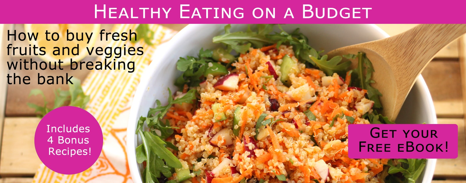 Healthy Eating On A Budget Ebook Get Your Free Copy
