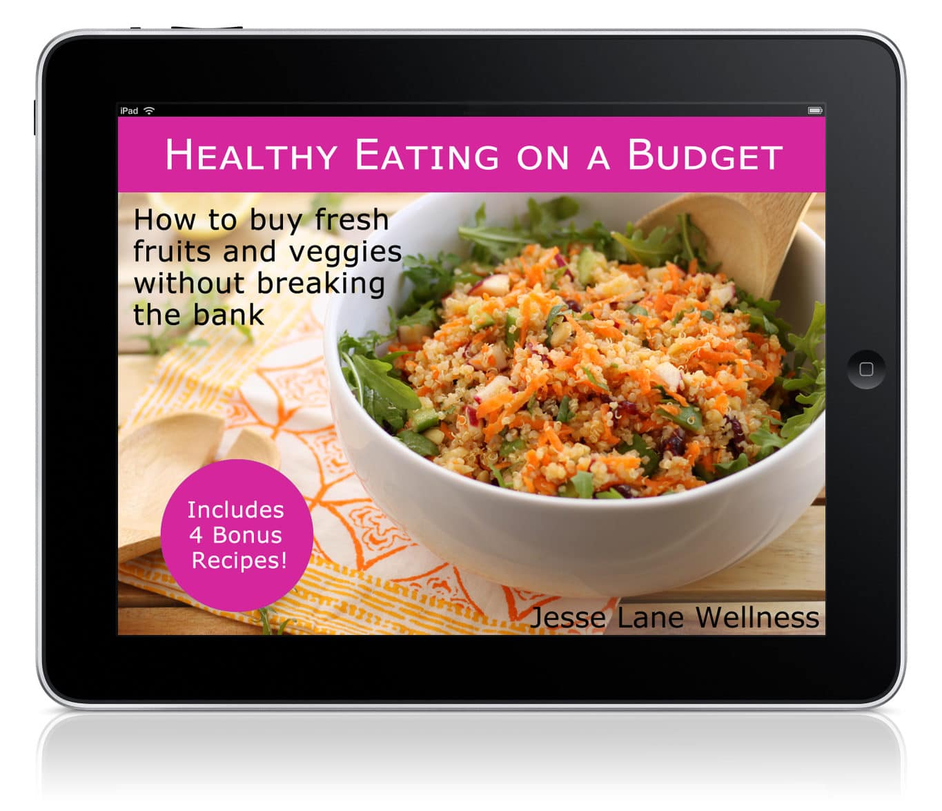 Healthy Eating on a Budget eBook by @jesselwellness #eBook #healthyeats