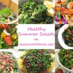 8 Healthy Summer Salads with @jesselwellness #summersalad #salads