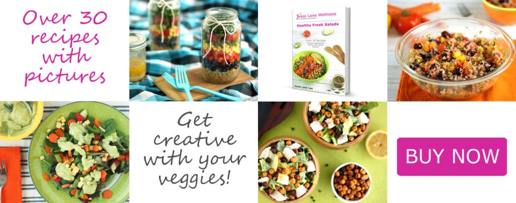 Jesse Lane Wellness Cookbook Healthy Fresh Salads Slider 2 @jesselwellness #jlwcokbook #healthysalads