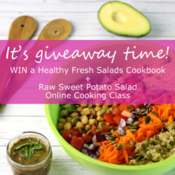 Win a copy of Healthy Fresh Salads wtih @jesselwellness #giveaway #cookbook