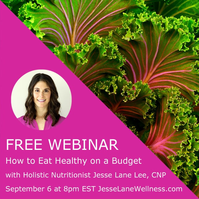 How to Eat Healthy on a Budget with @jesselwellness