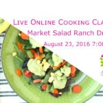 Market Salad with Creamy Ranch Dressing Online Cooking Classe with @jesselwellness Signup #cookingclass
