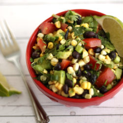 Corn Salsa Salad by Jesse Lane Lee author of Healthy Fresh Salads