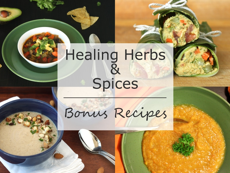 Bonus Recipes in Healing Herbs and Spices by @jesselwellness #spices #recipes