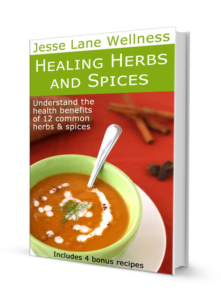 Healing Herbs and Spices by @jesselwellness #healing #health #eBook