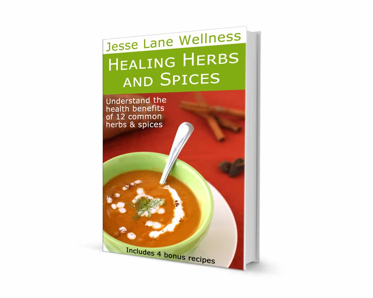 Healing Herbs and Spices FREE ebook by @jesselwellness #herbs #healing