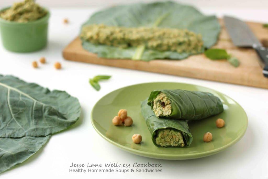 Healthy Homemade Soups and Sandwiches Smashed Chickpea Avocado by @jesselwellness #healthywrap #avocado
