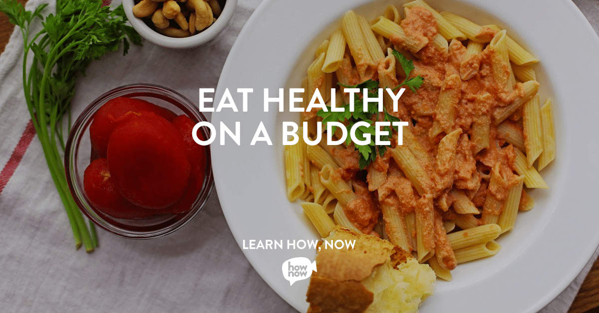 Eat Healthy on a Budget Classes on HowNow with @jesselwellness