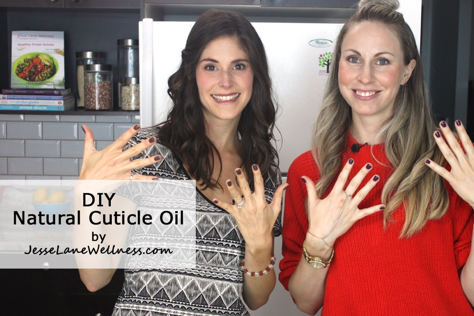DIY Natural Cuticle Oil with @jesselwellness #cleanbeauty #naturalbeauty