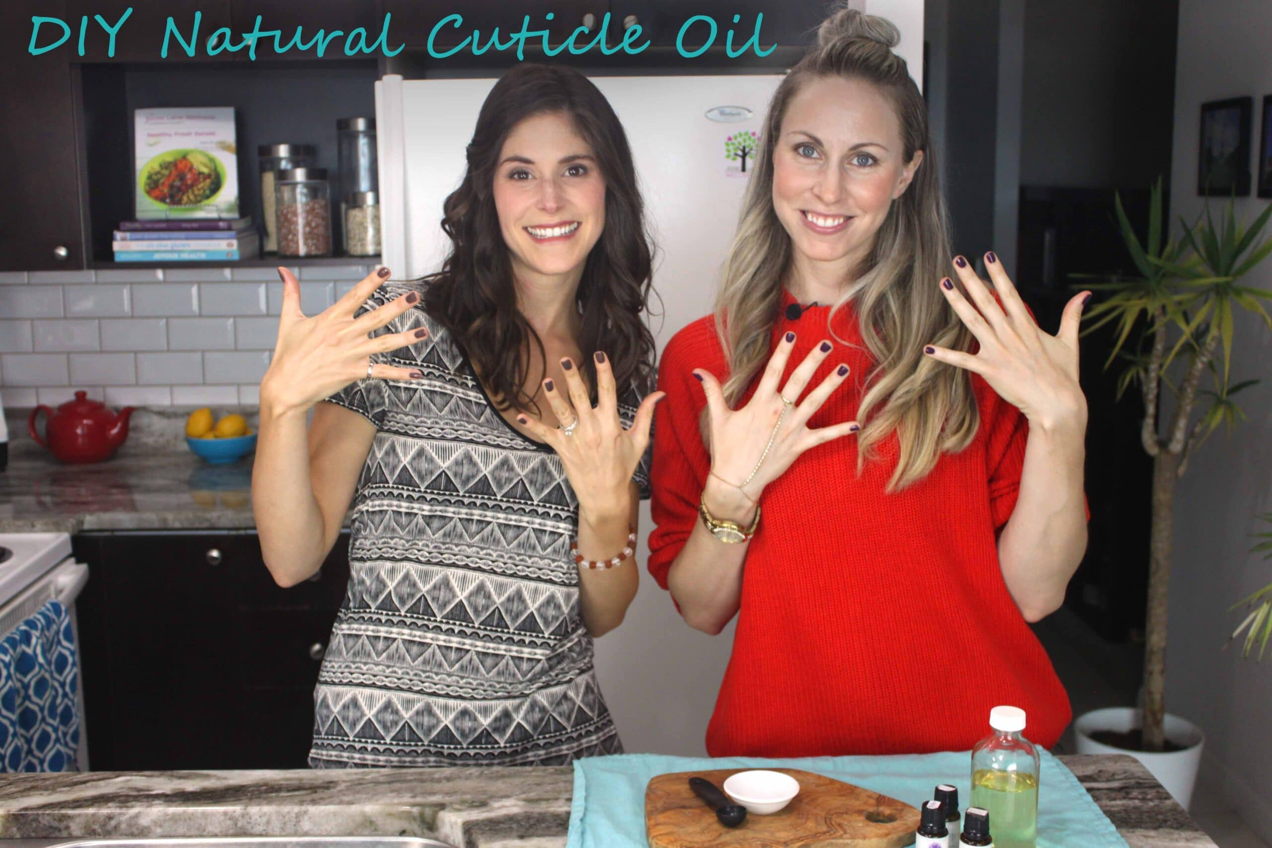DIY Natural Cuticle Oil with @jesselwellness #diybeauty #cuticleoil
