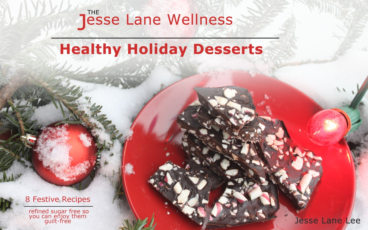 Healthy Holiday Desserts by @jesselwellness #holidayrecipes #christmas