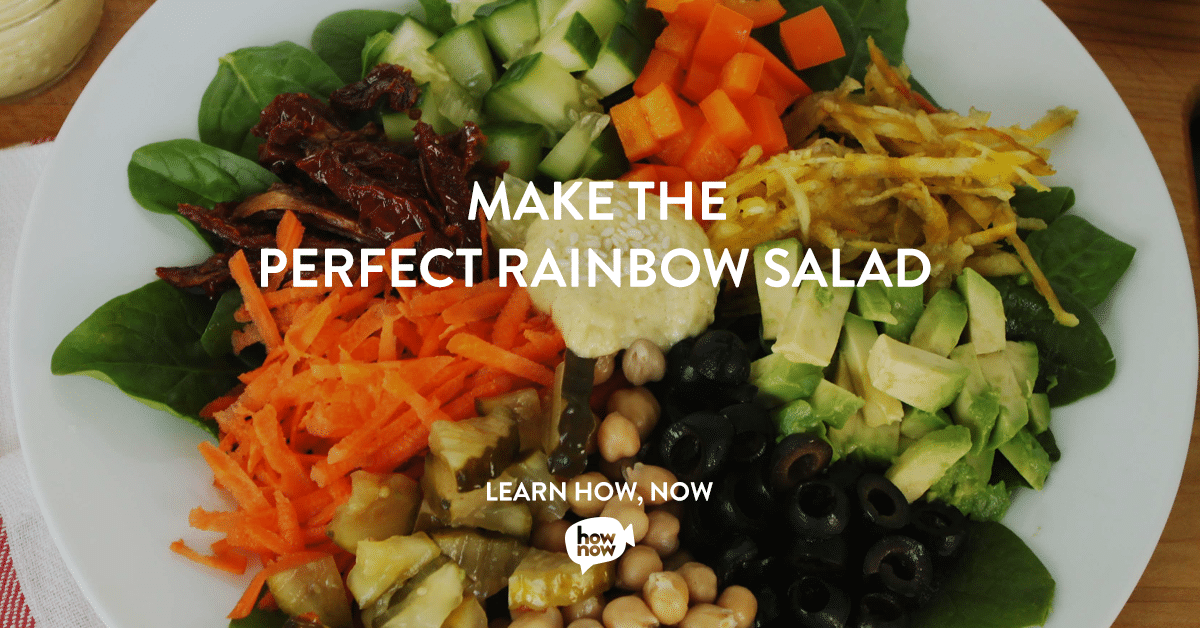 Rainbow Salad Classes on HowNow with @jesselwellness