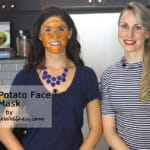 Sweet Potato Face Mask with @jesselwellness