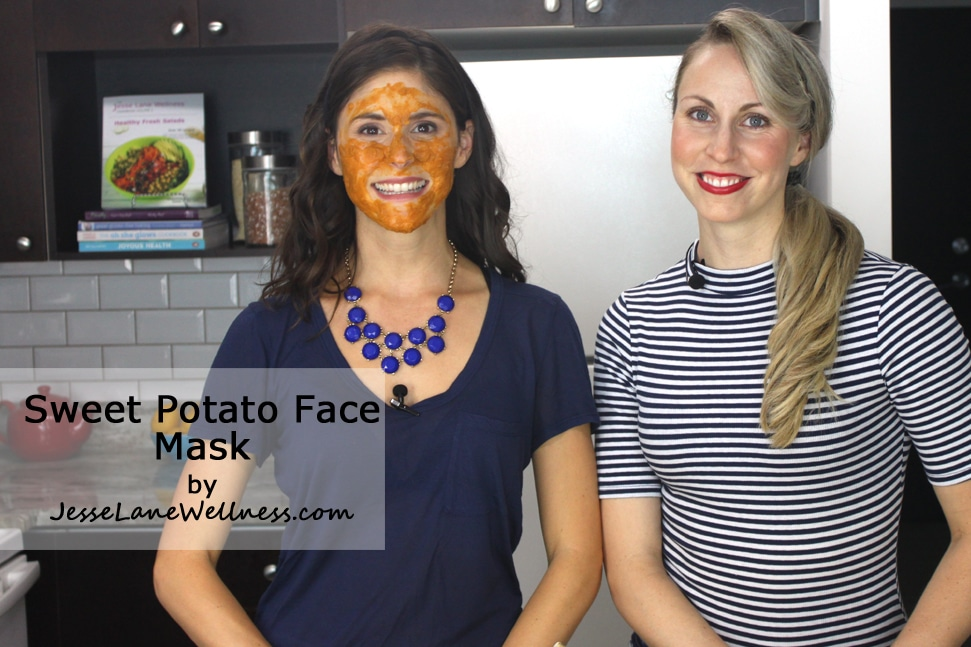 Sweet Potato Face Mask by @jesselwellness #facemask #naturalskincare
