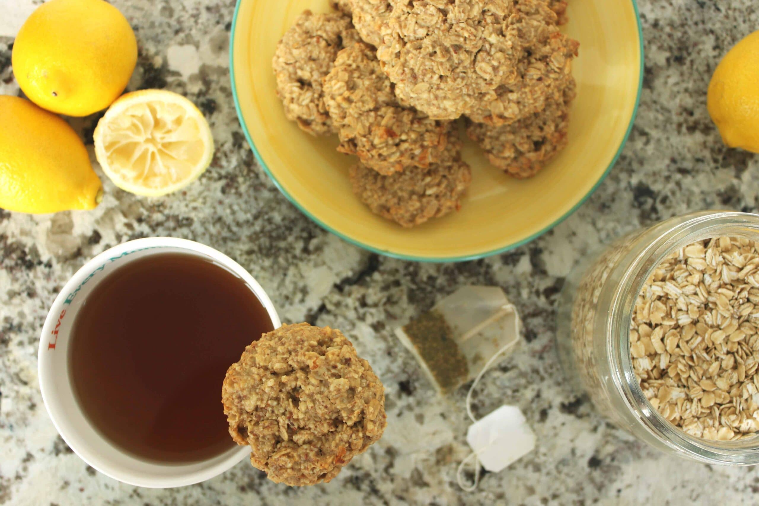 The Morning Show - Lemon Oatmeal Cookies with @jesselwellness #cookies #breakfast