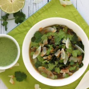 Thai Green Soup by @jesselwellness #detoxsoup #jlwcookbook