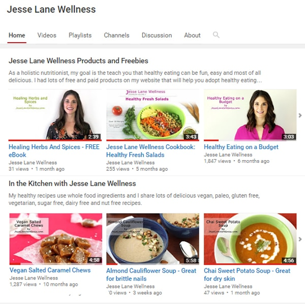 Subscribe to the Jesse Lane Wellness YouTube Channel @jesselwellness #youtube