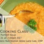 Roasted Pumpkin Cooking Class with @jesselwellness